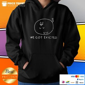 Fat Cat We Got Evicted Hoodie