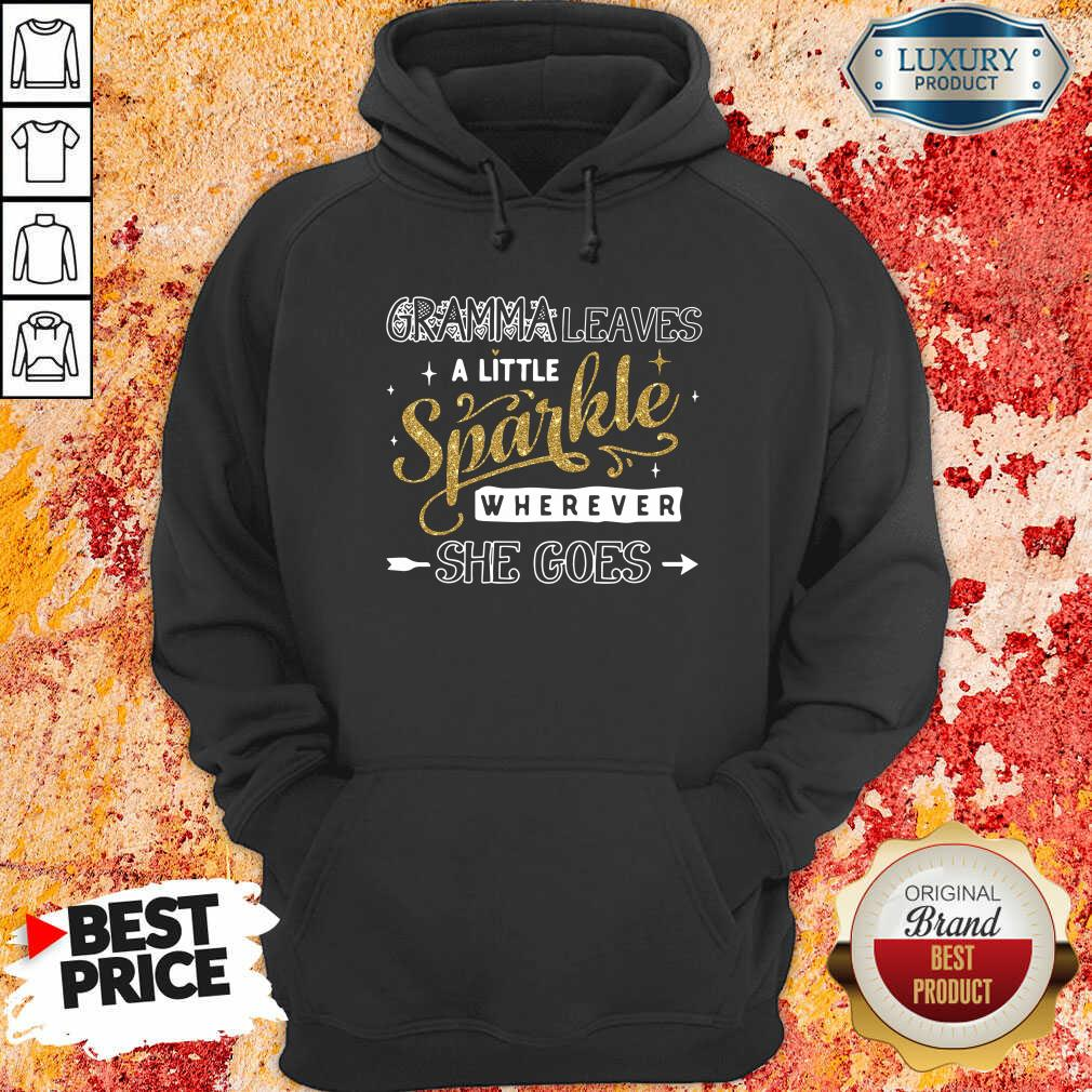 Gramma Leaves A Little Sparkle Wherever She Goes Hoodie