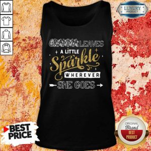 Gramma Leaves A Little Sparkle Wherever She Goes Tank Top