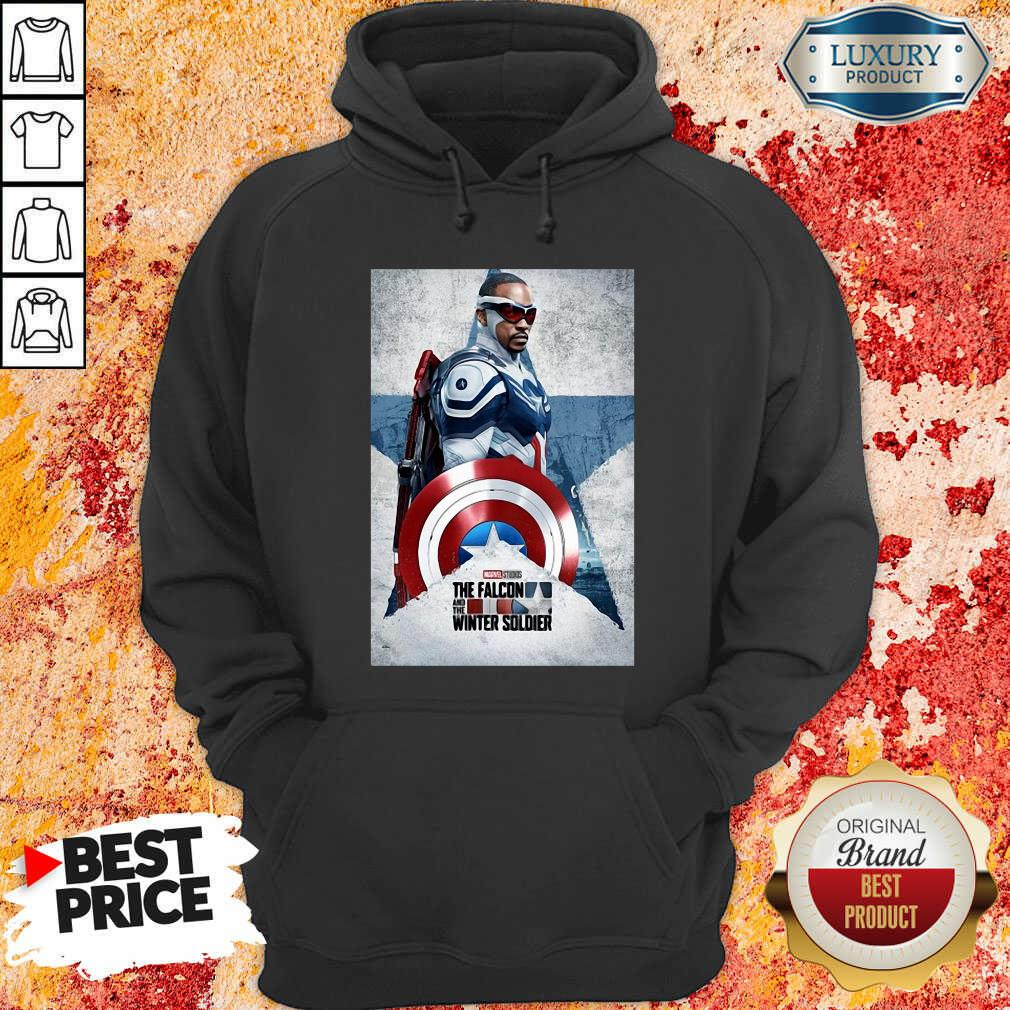The Falcon And The Winter Soldier Captain America Hoodie