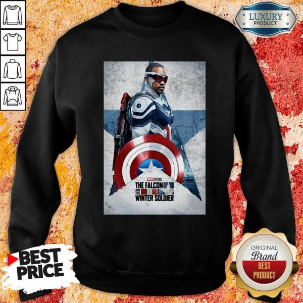 The Falcon And The Winter Soldier Captain America Sweatshirt