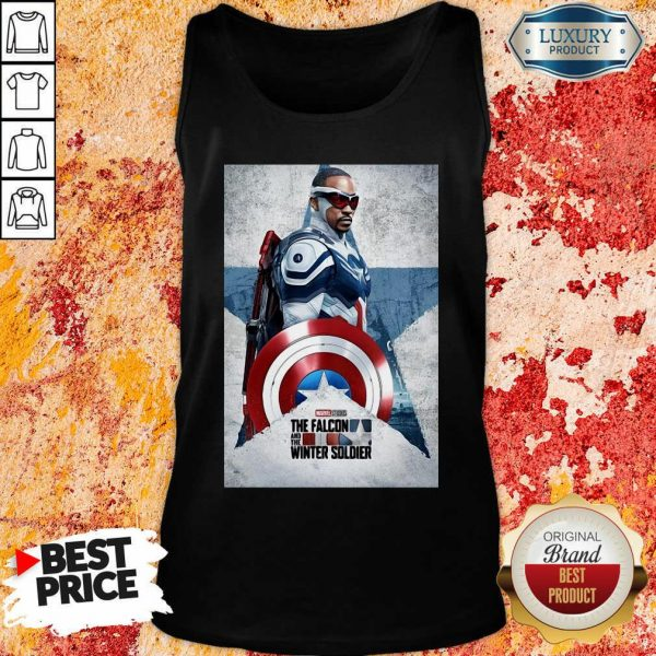 The Falcon And The Winter Soldier Captain America Tank Top