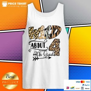 Wild 4 About 4th Grade Leopard Tank Top