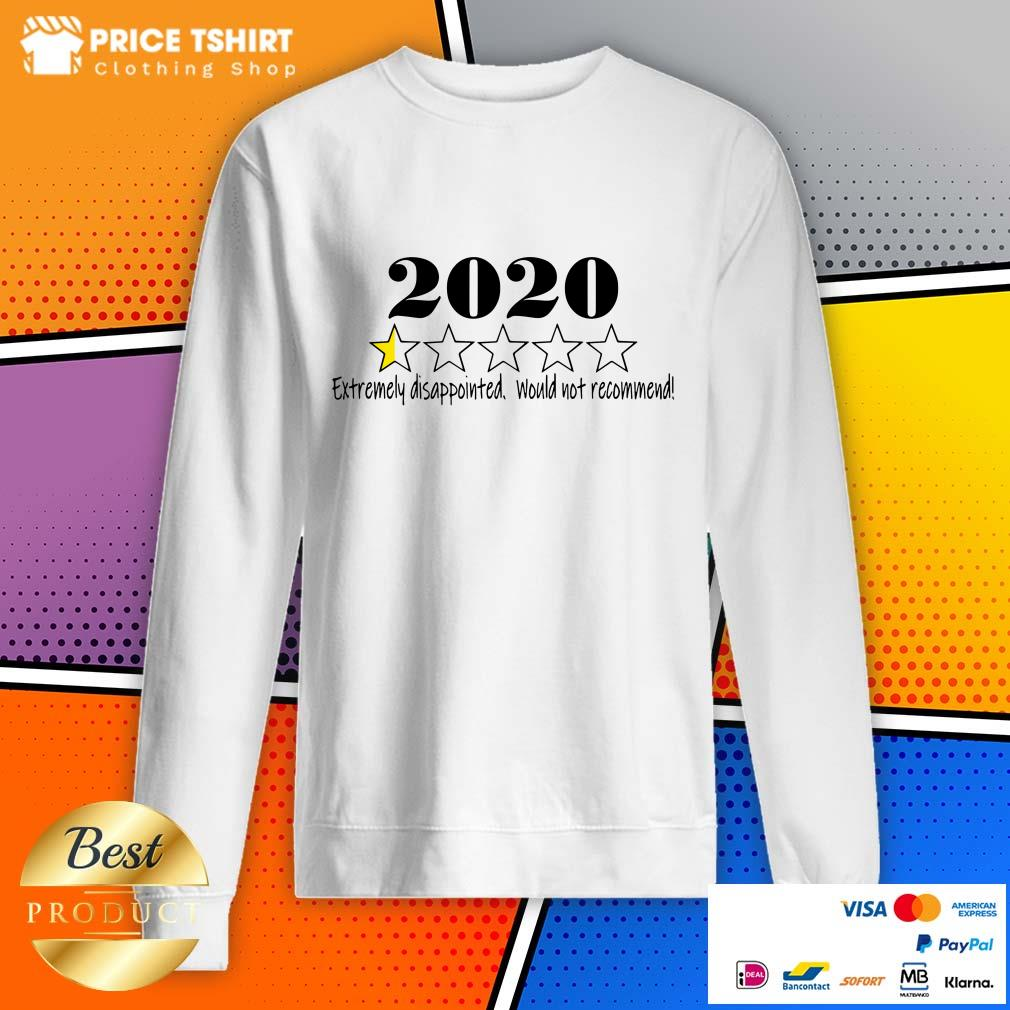 2020 Extremely Disappointed Would Not Recommend Sweatshirt