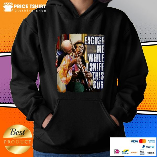 Excuse Me While I Sniff This Guy Billiards Hoodie