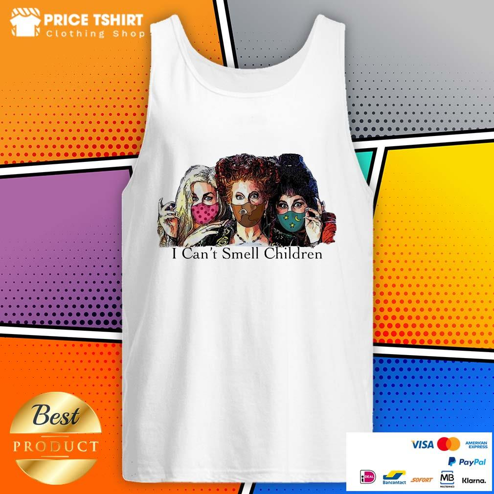 Hocus Pocus I Can Not Smell Children Tank Top