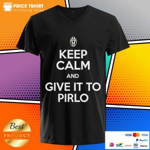 Juventus Keep Calm And Give It To Pirlo V-neck