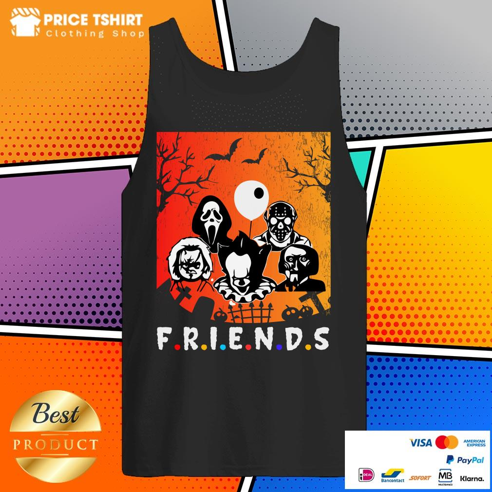 Pennywise And Awful Character Halloween V-neck
