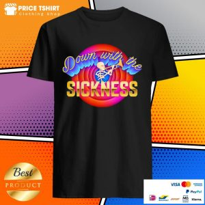 Skeleton Play Trumpet Down With The Sickness Shirt