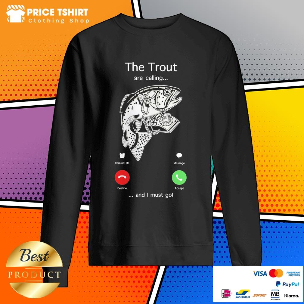 The Trout Are Calling And I Must Go Sweatshirt