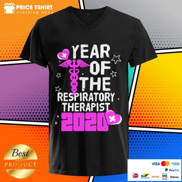 Year Of The Respiratory Therapist 2020 V-neck