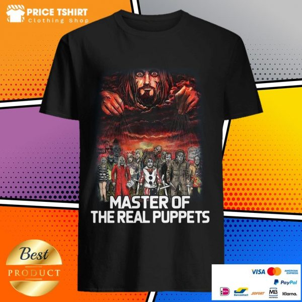 Horror Movie Characters Master Of The Real Puppets Shirt
