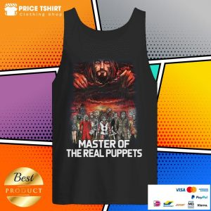 Horror Movie Characters Master Of The Real Puppets Tank Top