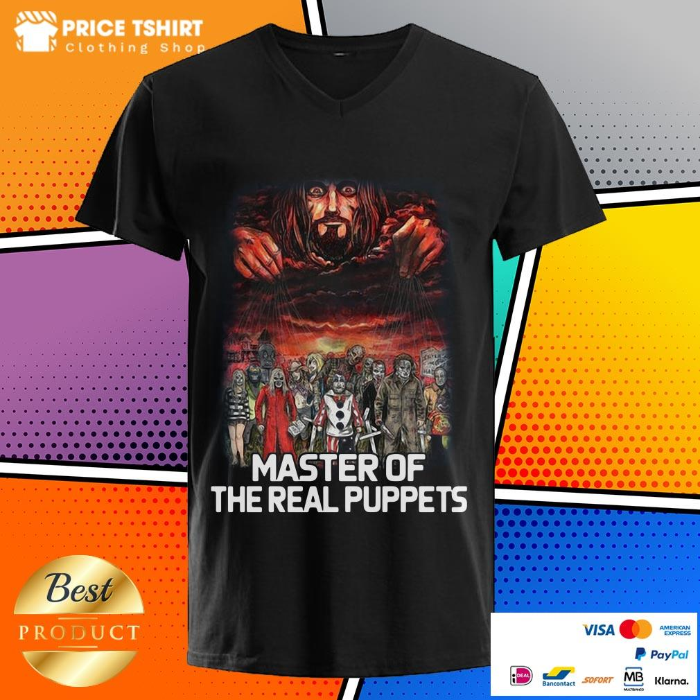 Horror Movie Characters Master Of The Real Puppets V-neck
